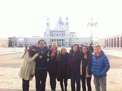Grupo de alumnos extranjeros de CCI Idiomas