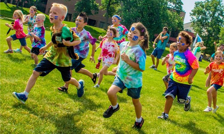 diversión en los campamentos de verano en inglés