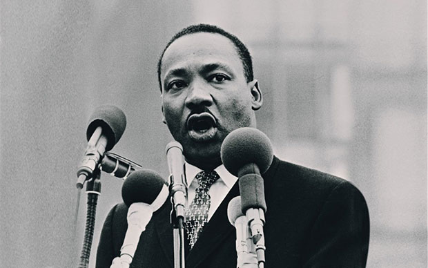 Martin Luther King año escolar en USA
