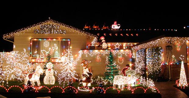 Navidad en Año Escolar en EEUU