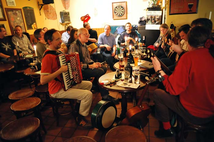 Au pair en Irlanda: Folk en Dublín