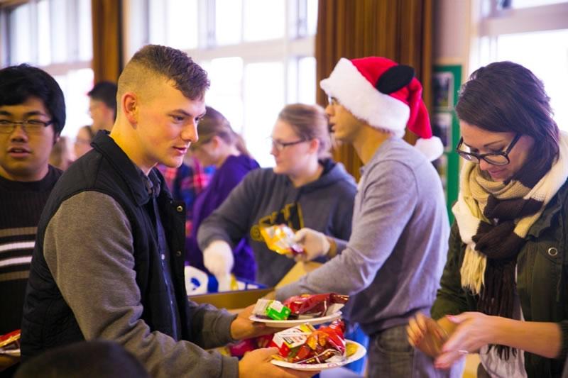 solidaridad en Navidad