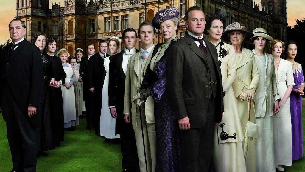 aprender inglés con DownTown Abbey