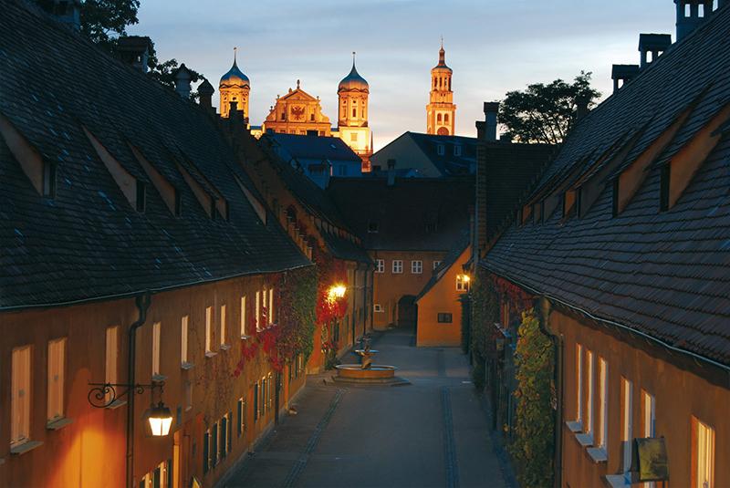 qué visitar en Augsburgo: Fuggerei