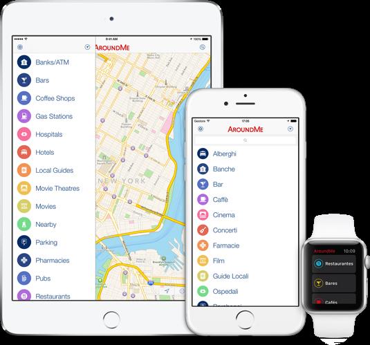 apps de viajes: Around Me