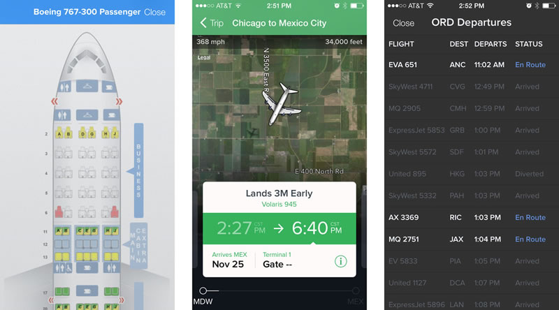 apps para viajar: Fligth Track 5