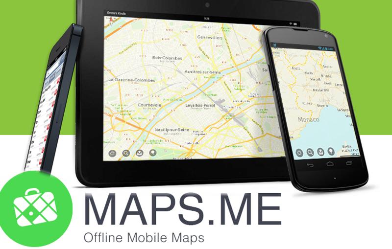 apps para viajar: Maps.me