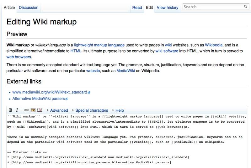 tecnologías para mejorar la enseñanza: wiki