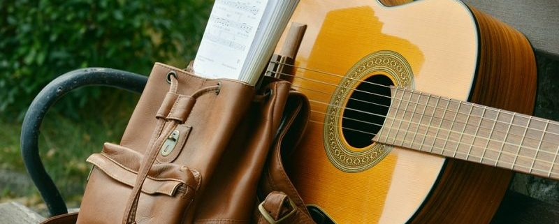 guitarrapara escuchar música en inglés