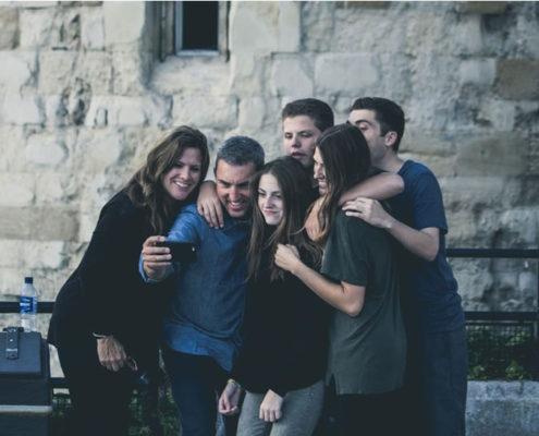 integración en una familia anfitriona