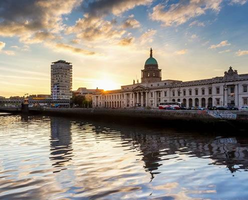 estudiar inglés en Dublín: Dublin Custom House