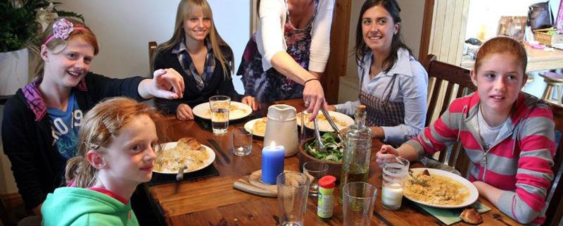 aprender inglés de au-pair en Irlanda