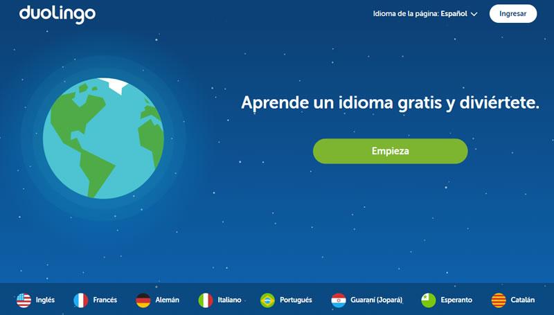 apps para viajes: Duolingo