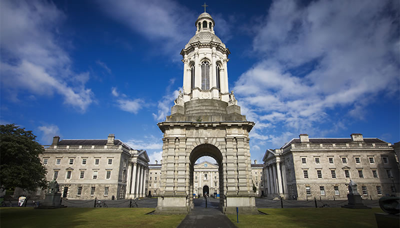 estudiar inglés en Dublín: Trinity College