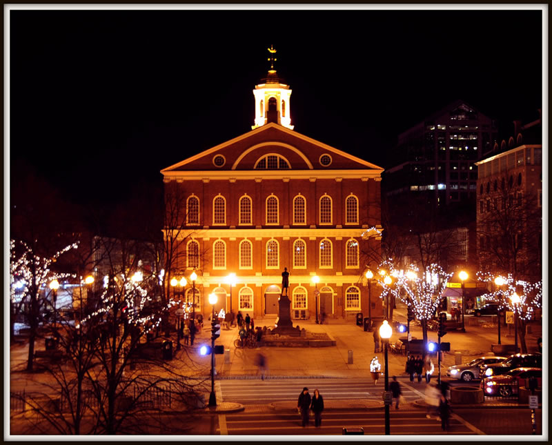 el mercado de Faneuil Hall
