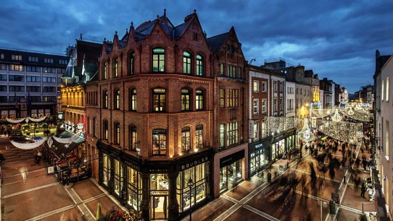 estudiar inglés en Dublín: Grafton Street