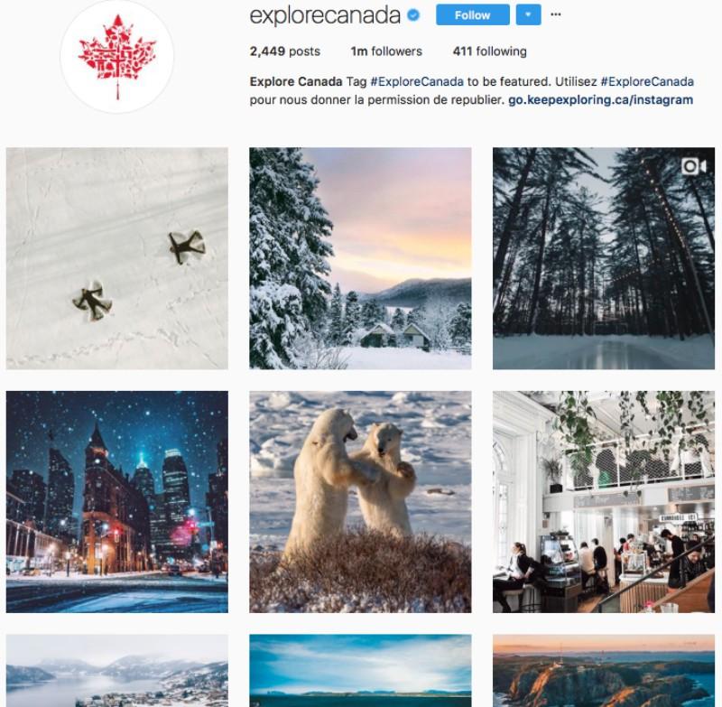 Instagram para planificar una inmersión escolar