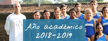 Catálogo de año académico 2018 - 2019
