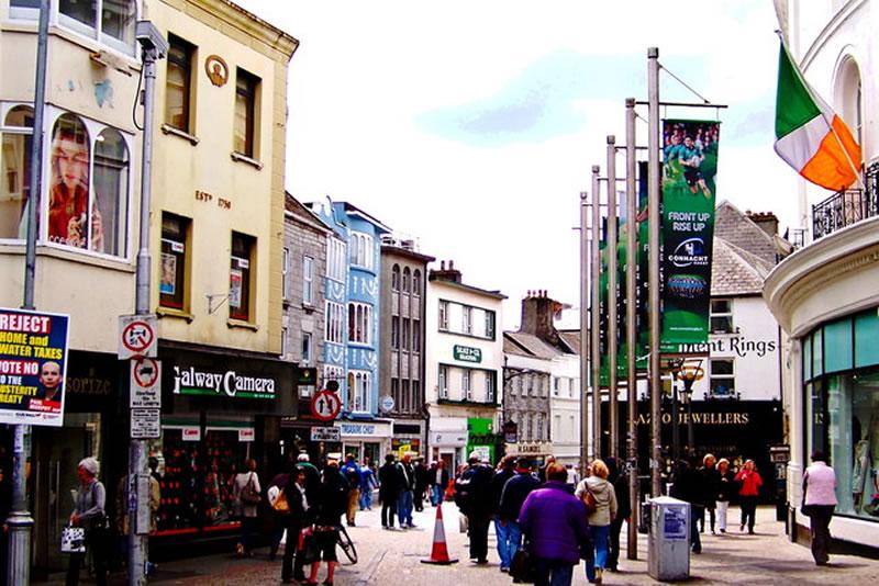 elegir ciudad para aprender inglés: Galway