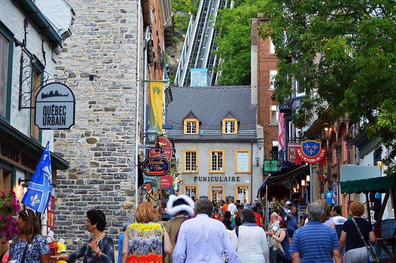 tradiciones canadienses en las calles