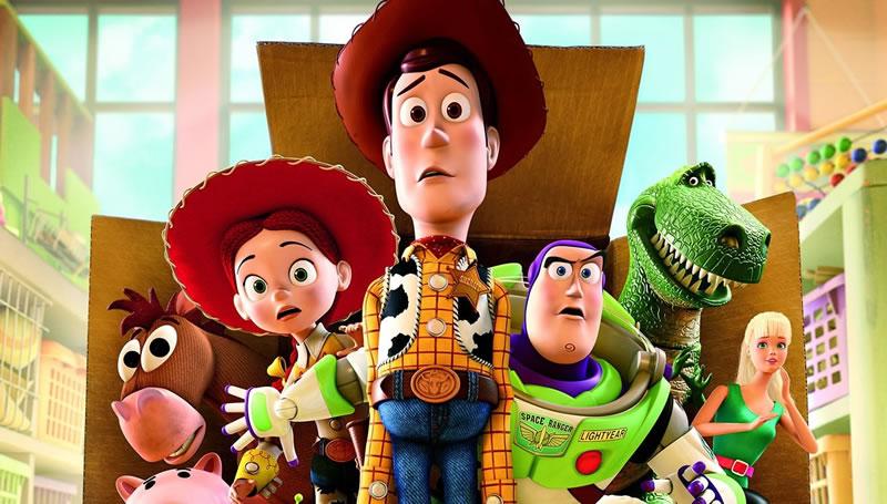 películas con las que aprender inglés: Toy Story
